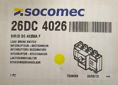 3ph SOCOMEC 37103004 rating 30A 600 V.a.c