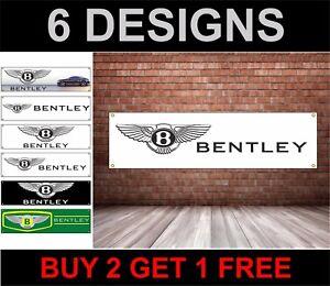 Bentley-Logo-PVC-Drapeau-Mecanique