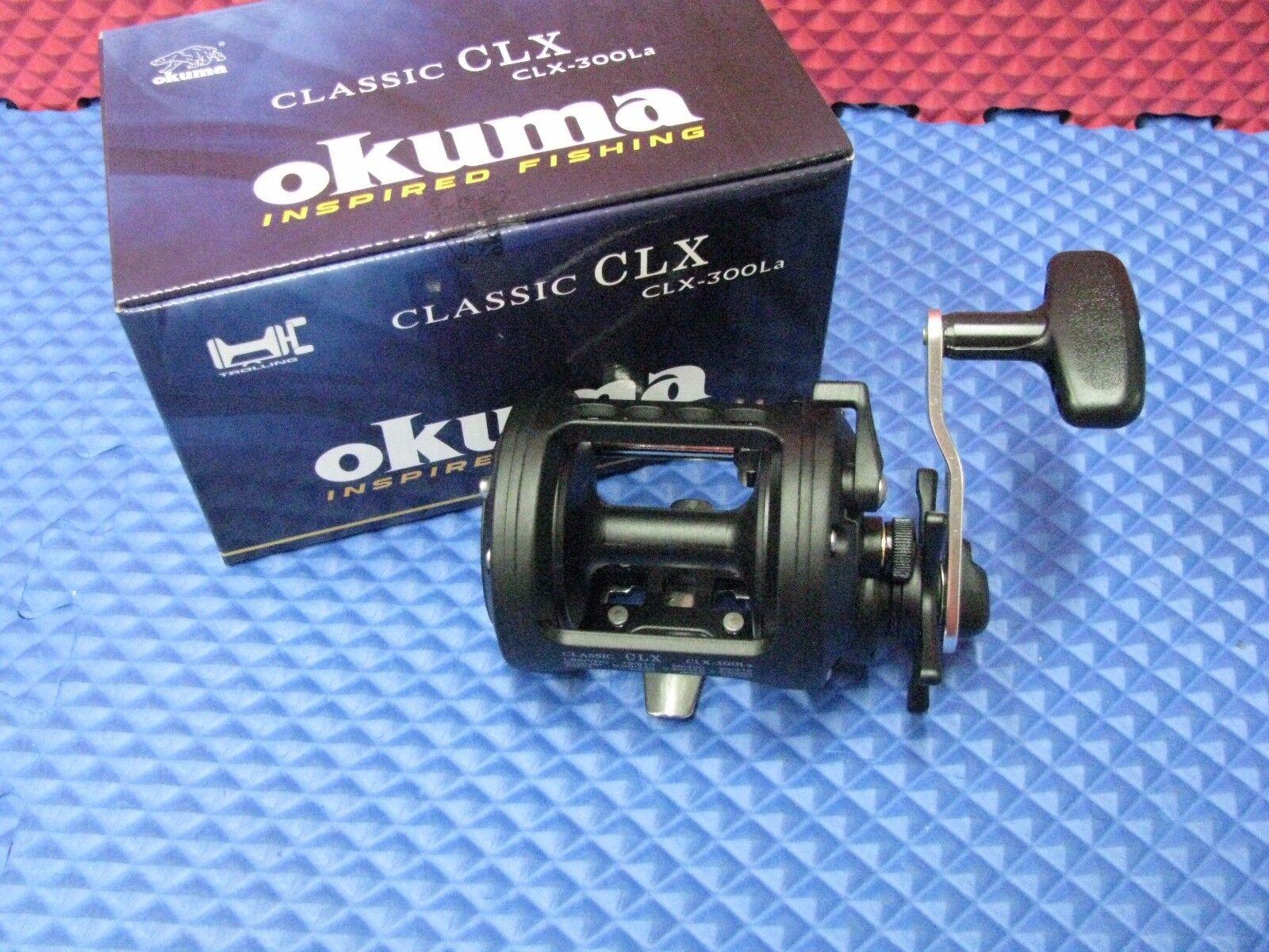 Okuma Classic CLX Levelwind Star Drag Trolling Reels Reels Reels CHOOSE MODEL 7bc839