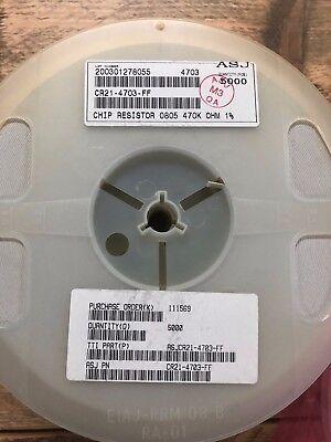 100x Vitrohm RC 1M8 Ω 1.8M Ohm 1/% 0805 SMD Thick Film Resistor Chip Widerstand