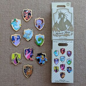 Dragons-Medieval-Magic-Mystery-Box-Pin-2019-Disney-Parks-LE-480-Pick-One