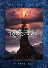The Lord of the Rings: The Return of the King (DVD, 2006, 2-Disc Set, Theatrical  Extended Limited Edition)