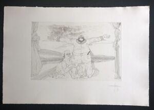 Jonas-Hafner-Noli-me-rangere-Radierung-1973-handsigniert-und-datiert
