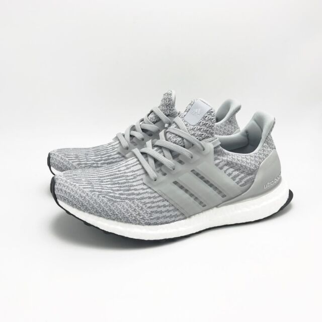 adidas ultra boost mens white clear gray black