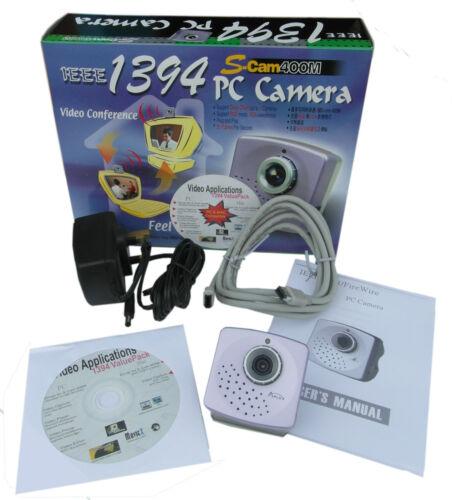 s-cam 400 MB IEEE 1394 WEBCAM Fire Wire PC Fotocamera