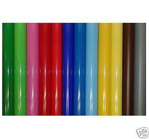 Cameo Craft Sticky 305mm x 5m 3-5 Year Self Adhesive Matt Sign Vinyl Coloured