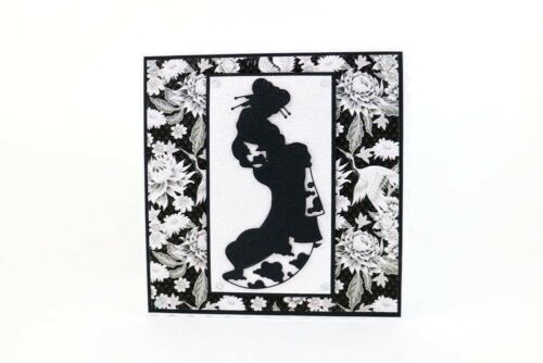 Tattered Lace East Meets West JAPANESE LADY KEIKO Craft Cutting Die 442257