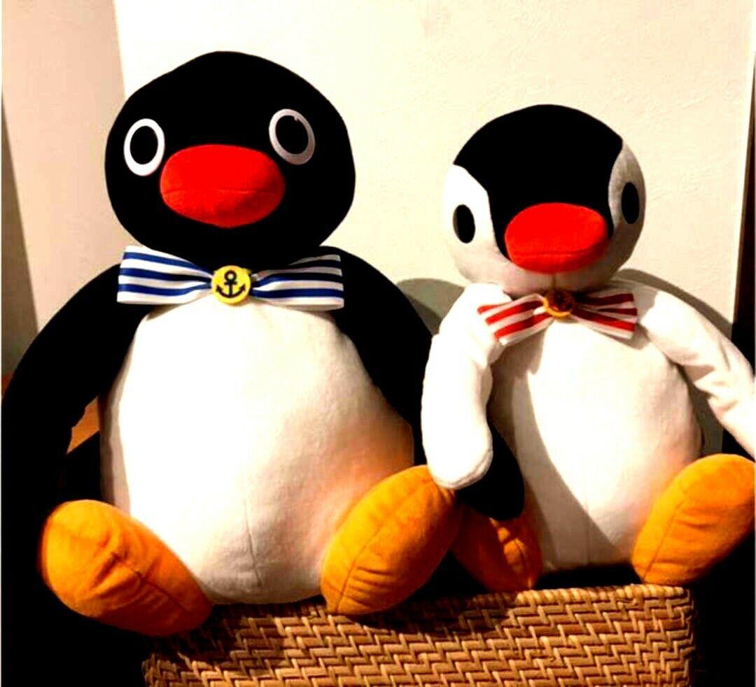 Pingu x Pinga Marine ribbon plush toy new product with tag new item From Japan