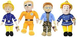 NEW-OFFICIAL-17-034-FIREMAN-SAM-AND-FRIENDS-PLUSH-SOFT-TOYS