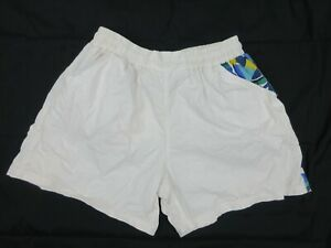 Vintage-Mens-Board-Shorts-Size-M-Beach-90s-Bright-Loud-Mambo-Festival-Surfing