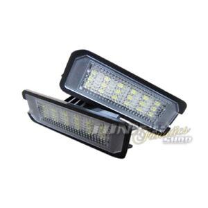 Für VW Seat  2x LED Kennzeichenbeleuchtung Kennzeichen Leuchten Birnen im SET