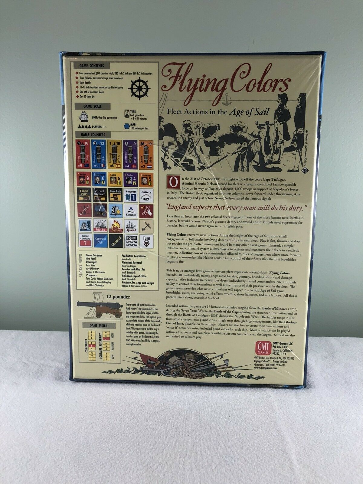 GMT Games Flying Flying Flying colors - Fleet Actions in the Age of Sail - 2nd Edition 9e6722