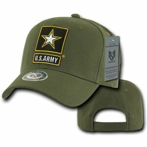 c3a4121f4d7 Details about US ARMY Strong Rapid Dominance Baseball Hats Hat Cap Star USA Veteran  Military