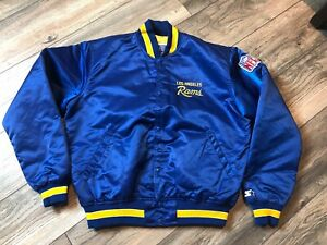 1980-s-Los-Angels-Rams-Starter-Satin-Jacket-Men-s-Large-Very-Nice