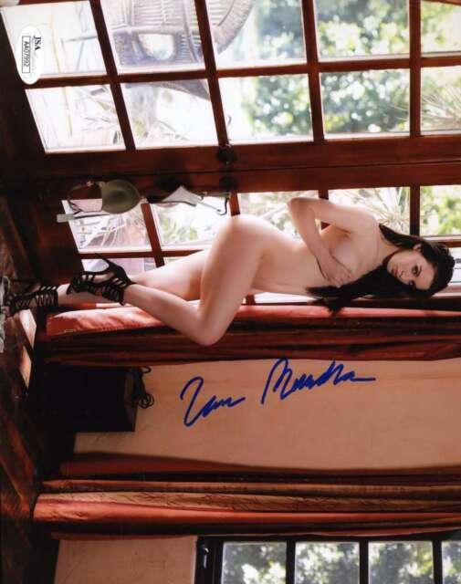 LANA RHODES JSA Coa Hand Signed 8x10 AVN Photo Autograph Authentic