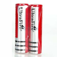 2X - ULTRA FIRE® .ORIGINAL 18650/3000mAh/3.7V li-ion RECHARGEABLE POWER BATTERY