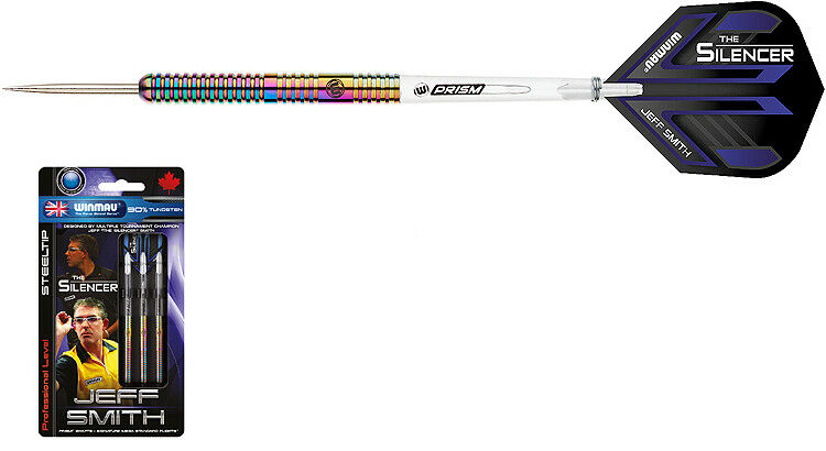 Darts WINMAU Jeff Smith Steeldarts - Dart Dart Dart Set bf483c