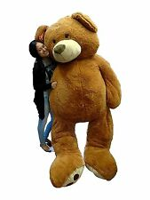 Big Plush Giant Teddy Bear Life Size Brown Teddy Bear Over 93 inches #344440