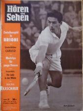 HÖREN UND SEHEN 31 - 1956 TV & Programm 29.7.- 4.8. Tennis Brioni Enrico Caruso