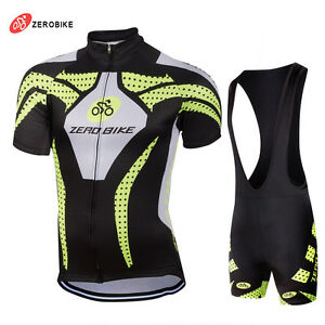 Men s Sports Team Cycling Jersey Sets Bike Bicycle Bib Top Short ... 0a00f8c1a