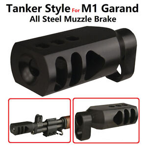 Details about Field Sport M1 Garand Tanker Style Competition Muzzle  Brake,All Stee Heavy Duty