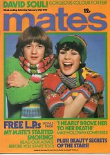 Mates Magazine 19 February 1977    David Soul    Peter Frampton    Jeff Phillips