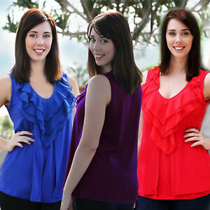 Maternity Nursing Shirt - Blue Red Purple