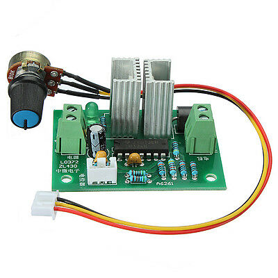 12V-36V PWM DC Motor Speed Module Switch Controller Regulator Adjustable Voltage