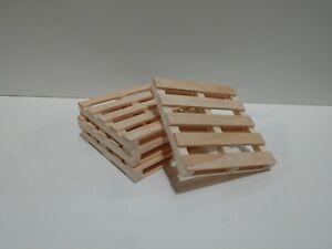 34459ded51d7 Mini Wood Pallet Coasters Set of 100 Bulk Lot Pinterest Unique Gift ...