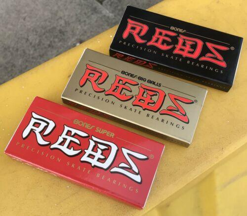 Bones Reds Bearings Big Balls Super Fast free UK delivery Pack of 8 Skateboard