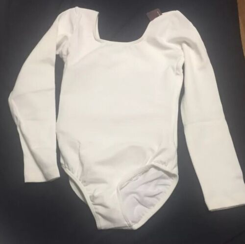 Bloch Leotard Child Size 8-10 Ballet Dance Short/&Long sleeve tank Various Colors