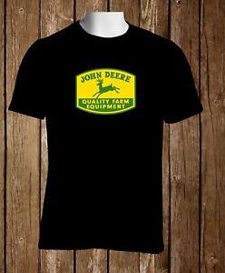 John Deere Vintage Clothing Tee Size S-2XL FREE SHIPPING