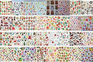 sticker stickerbogen stickerb gen f r kinder eulen tiere blumen wahlweise ebay. Black Bedroom Furniture Sets. Home Design Ideas
