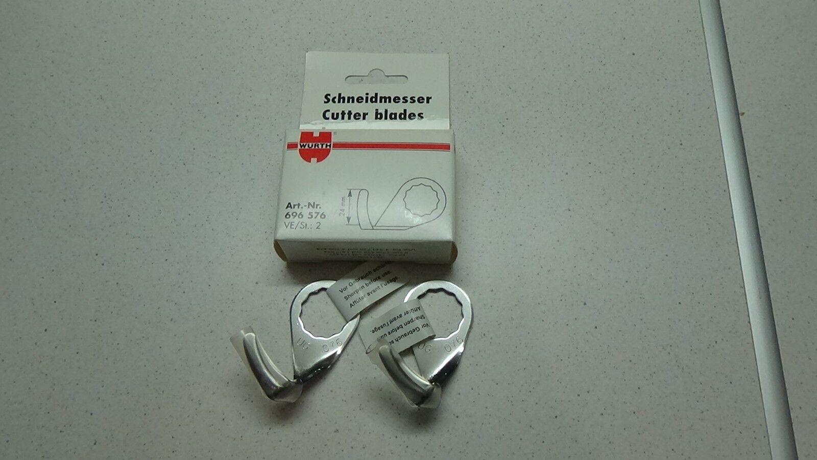 Würth Scheibenaustrennmesser Schneidmesser Art.-Nr.696 576 für Fein Supercut