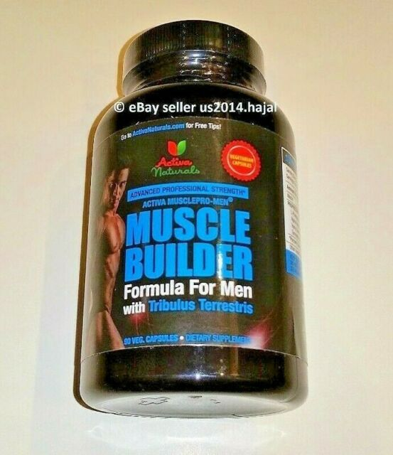 2x Activa Naturals Muscle Builder Supplement For Men Support Bodybuilding For Sale Online Ebay