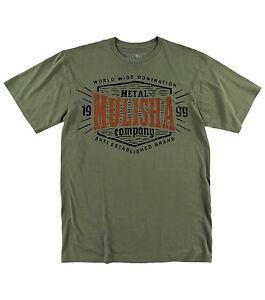 Metal Mulisha Carve Premium T Shirt Mens Green Tee MX FMX Clothing ... 01f3b1a44