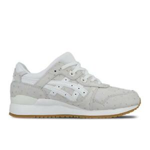 Details about Womens ASICS GEL LYTE III White Trainers H7F8L 0101