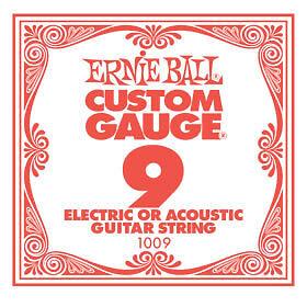 ERNIE-BALL-1009-Corda-singola-per-chitarra-elettrica-e-acustica