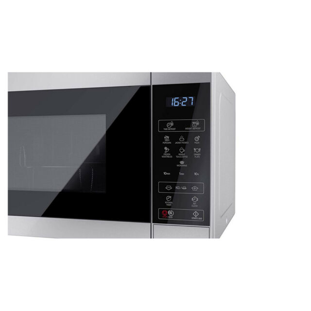 Sharp YC-MS51U-S 900W Solo Microwave In Silver