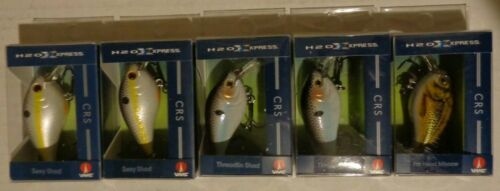 Lot 5 New Assorted H2O Xpress Rattle CRS CrankBait Fishing Lures FSH2FT-6100 #2