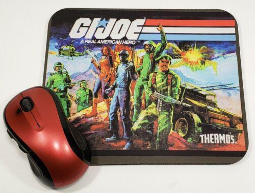 GI Joe Mouse pad Thermos Lunchbox stalker snakeeyes scarlett