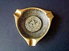 Vintage Universidad Central de Venezuela Caracas Logo Solid Bronze Ashtray