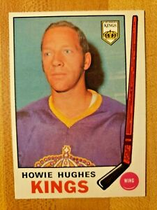 1969-70-O-Pee-Chee-OPC-Howie-Hughes-142-Los-Angeles-Kings-LA