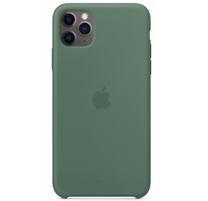 2019-iPhone-11-Pro-Max-Apple-Echt-Original-Silikon-Huelle-Case-Piniengruen