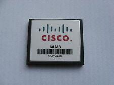 Genuine Cisco MEM1800-64CF 1801 1811 1841 MEM2800-64CF 2801 2811 2821 64Mb Flash