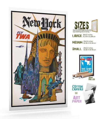 Travel Poster New York America 091
