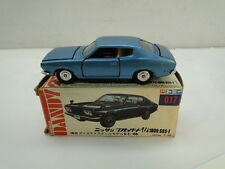 TOMICA DANDY DIECAST CAR NISSAN BLUEBIRD 017 1/46 SCALE JAPAN T-22 TOMY BOX TOY