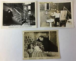 1945-Ecarlate-Rue-Vintage-Film-8x10-Photographies-Lot-De-3-Edward-G-Robinson