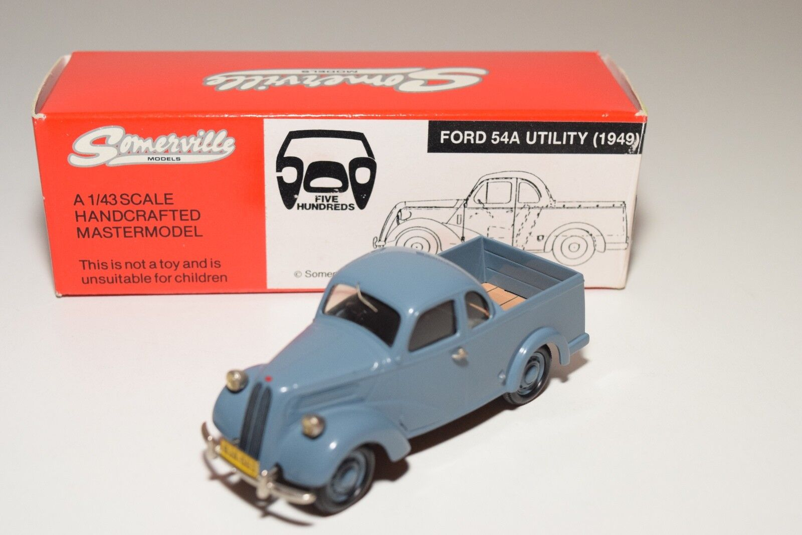 SOMERVILLE MODELS 501 FORD 54A UTILITY 2018 Azul MINT BOXED 164/500