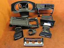 VW Golf 7 VII Dekor Aschenbecher Tachobrille Radioblende original schwarz